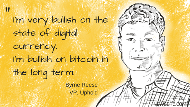 byrne reese uphold vice president interview. newsbtc bitcoin news