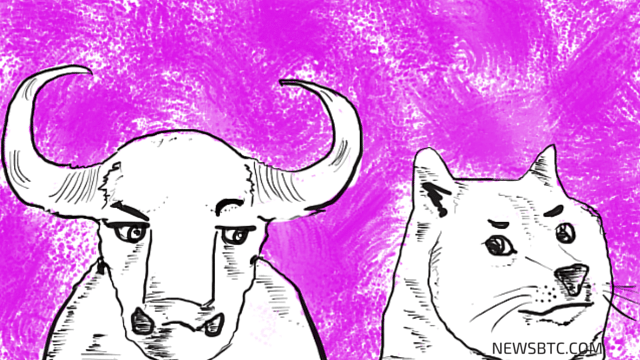 dogecoin price analysis. Dogecoin illustration. newsbtc dogecoin news