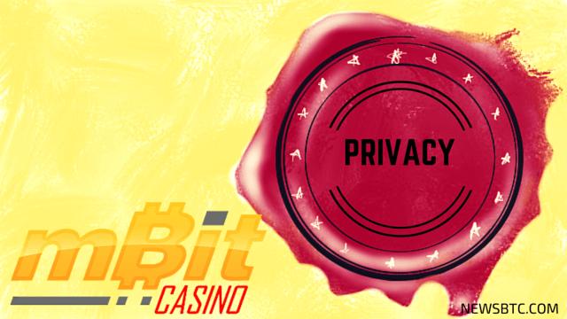 mBit Casino Puts User Privacy on Top Priority. newsbtc bitcoin news
