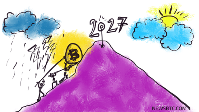 world economic forum. bitcoin tipping point 2027. illustration. newsbtc bitcoin news