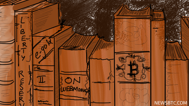 A Brief History of Digital Currency illustration. newsbtc bitcoin story