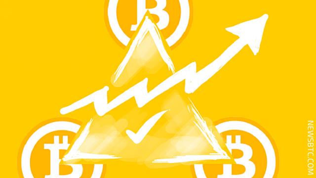 Bitcoin Price Intraday Analysis. Another Triangle Pattern. newsbtc bitcoin price news