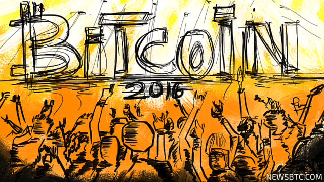 bitcoin events, events, 2016, blockchain 2016,