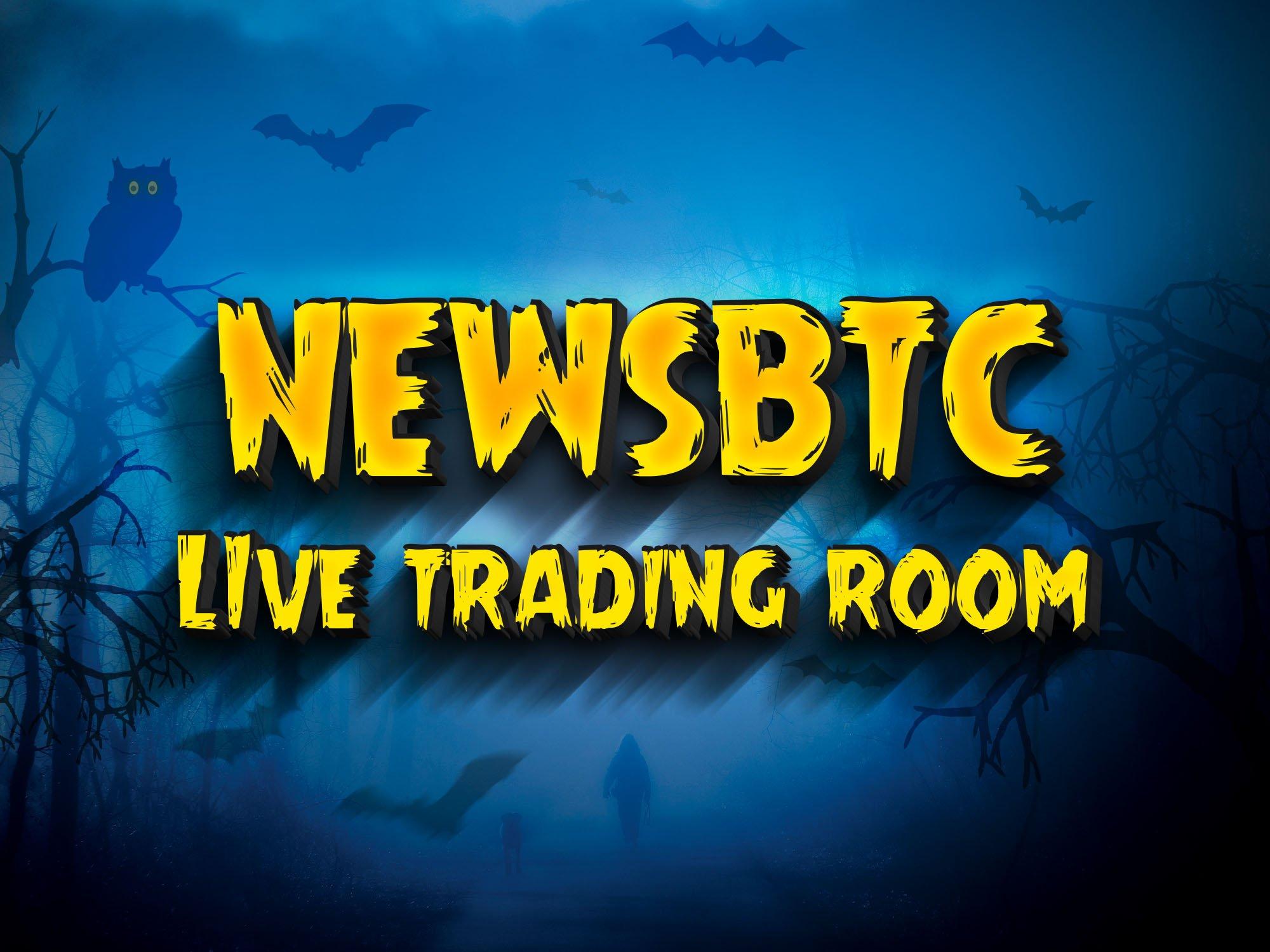 crypto trading, NewsBTC trading room