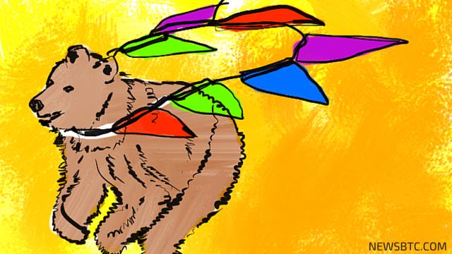 bitcoin price. bearish pennant galore. newsbtc.