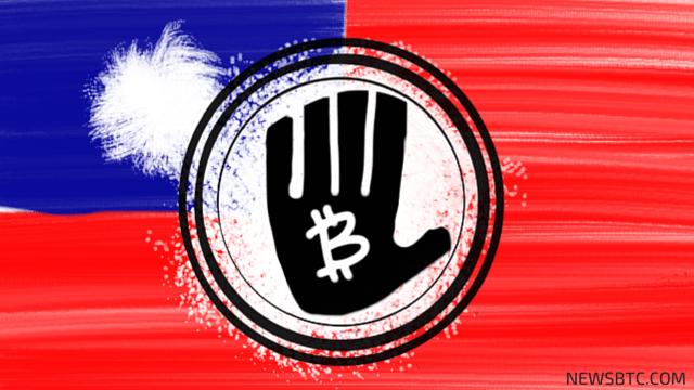 taiwan bans bitcoin. newsbtc bitcoin news