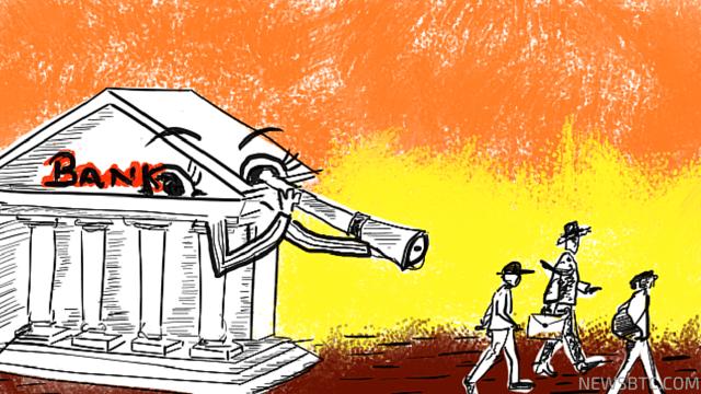 Bitcoin is not Anonymous. Bank KYC Illustration. Newsbtc bitcoin news