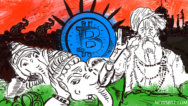 Cryptocurrency bitcoin is gaining popularity in India. newsbtc bitcoin india news