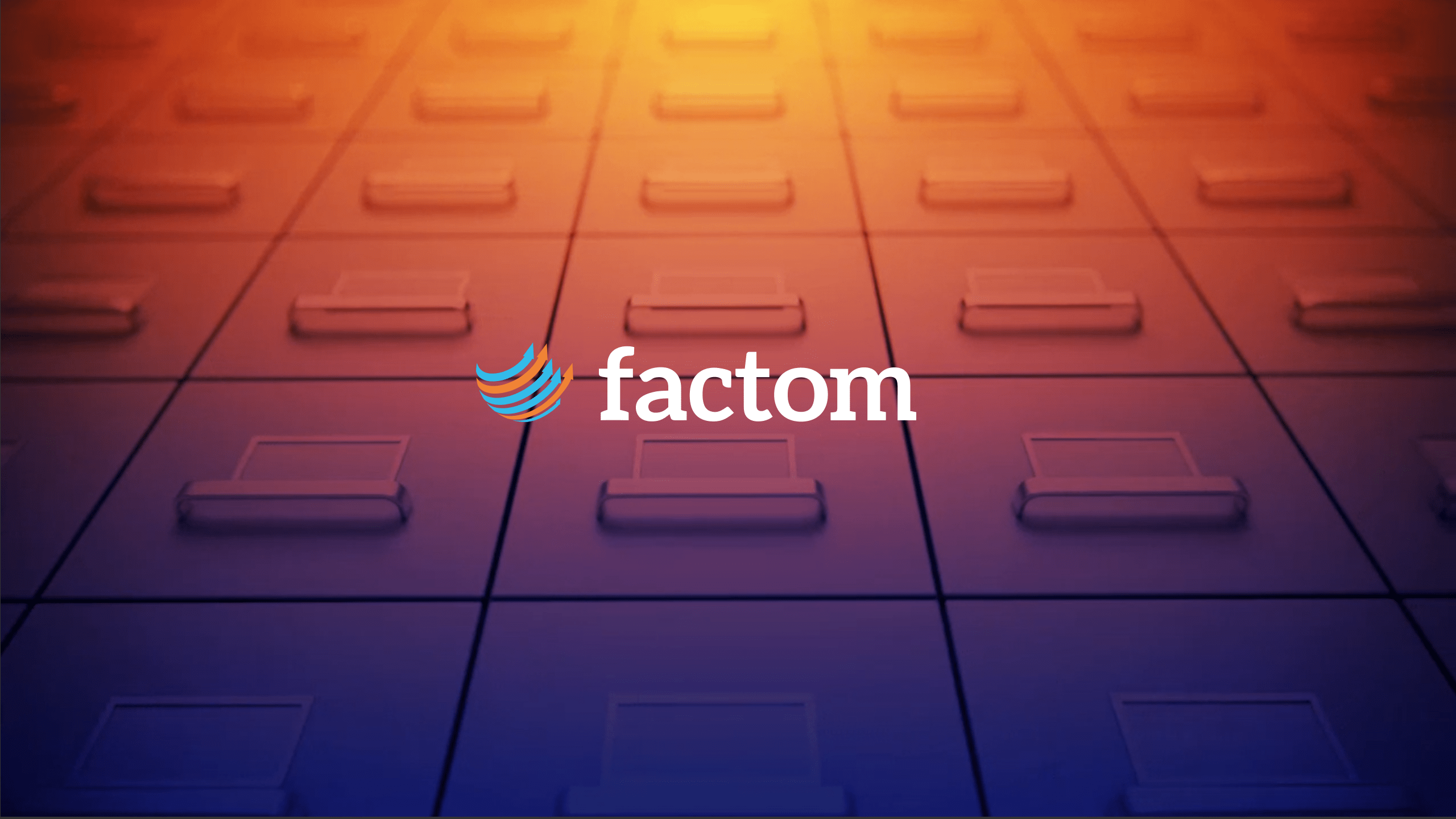 Factom YouTube Header