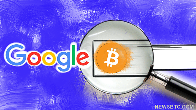 Google Searches for Bitcoin Surge by percent. newsbtc bitcoin news.