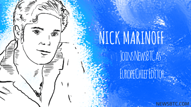 Nick Maninoff Joins NewsBTC as Europe Chief Editor. newsbtc bitcoin news