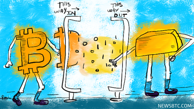 Why Bitcoin Investors Should Take the Current Upsurge with a Grain of Salt and Convert Their Virtual Funds into Gold.