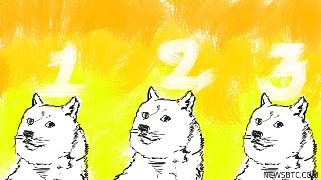 dogecoin price. triple bottom. newsbtc dogecoin news.