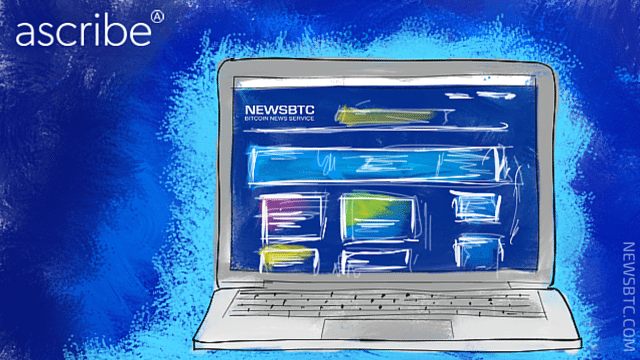 newsbtc partners with ascribe.io . newsbtc bitcoin news