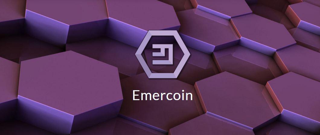 emercoin, emercoin logo