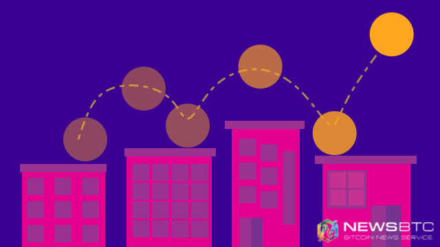 bitcoin price. bounce illustration. newsbtc