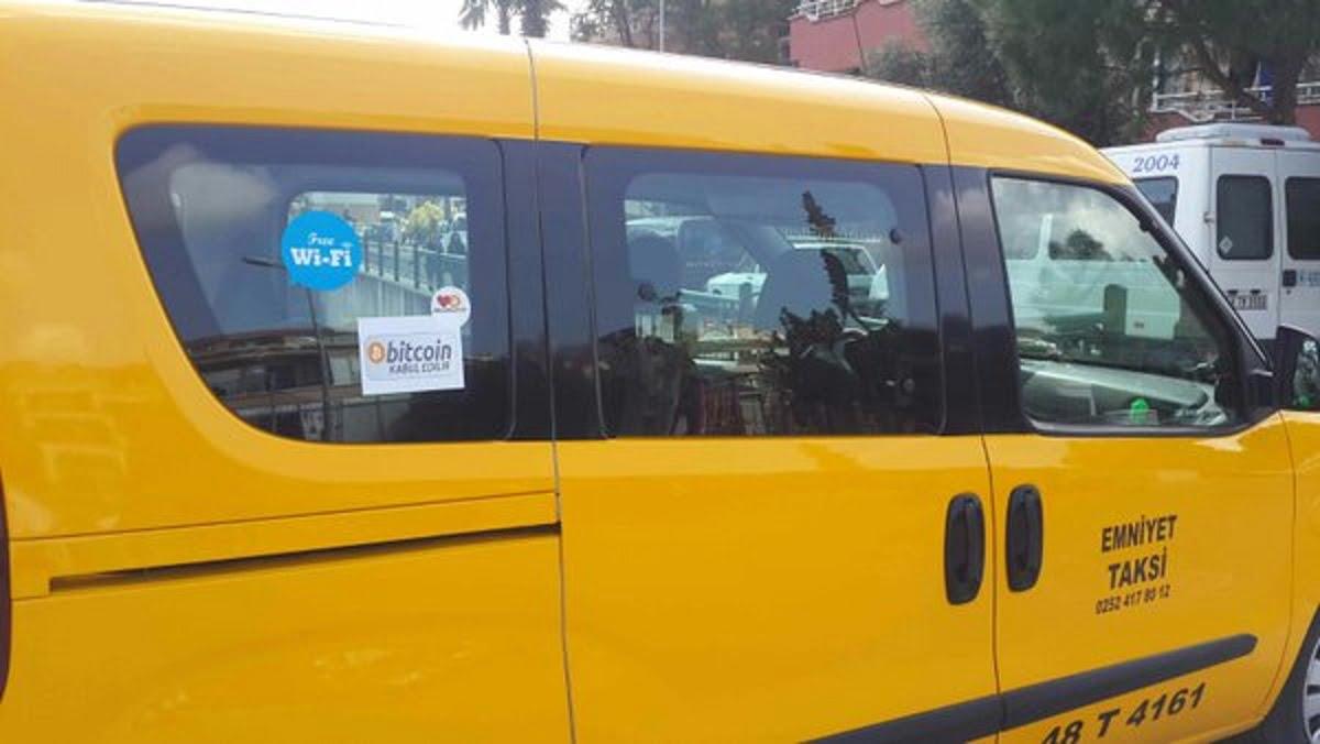bitcoin taxis