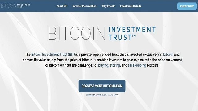 invest in ethereum technology where can i buy bitcoin investment trust