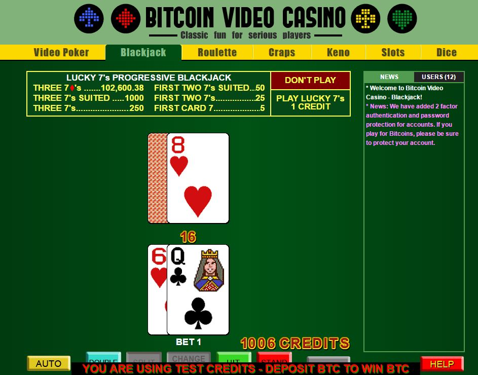 play online casino with bitcoin