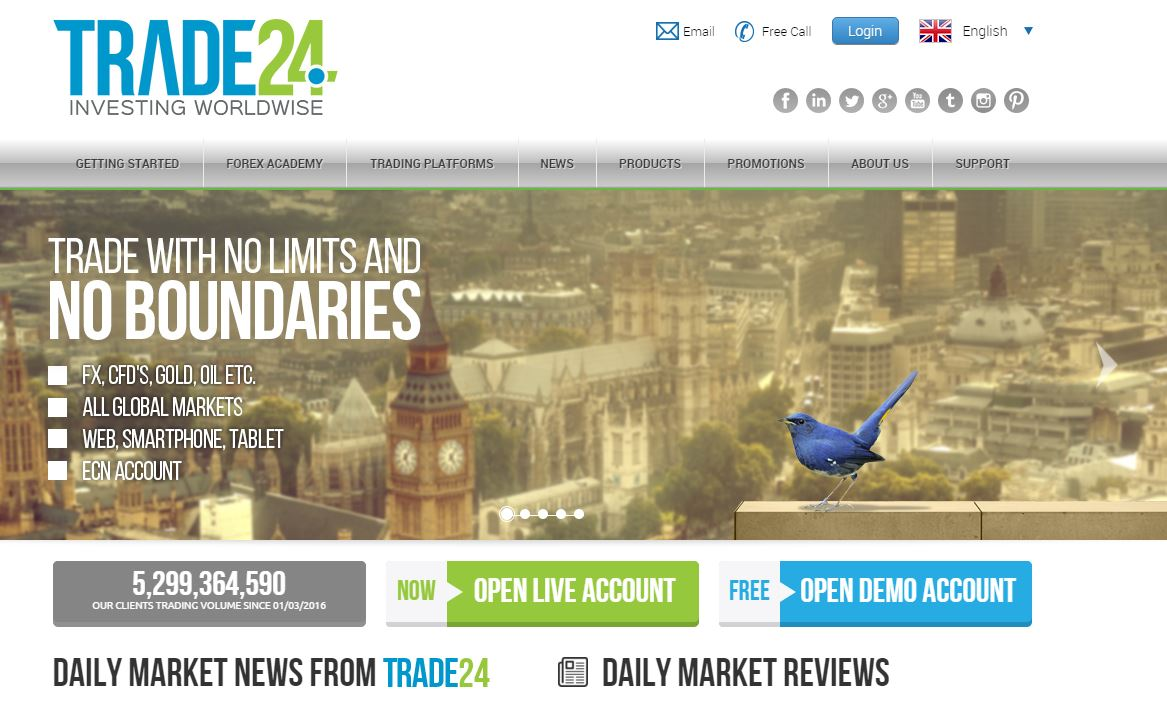 Trade24 – Forex Trading Services for Noobs | NewsBTC