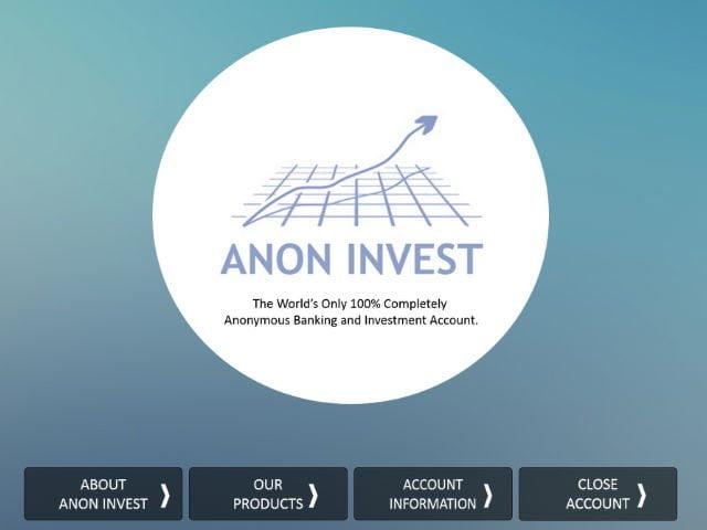 investment, anon