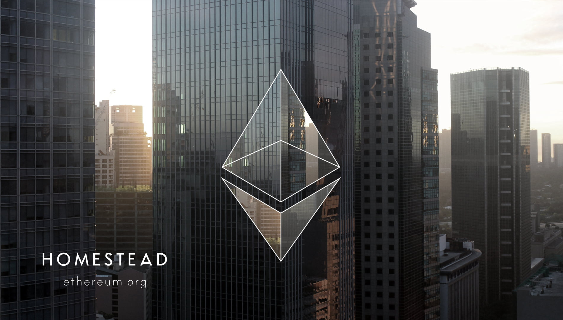 Ethereum homestead background