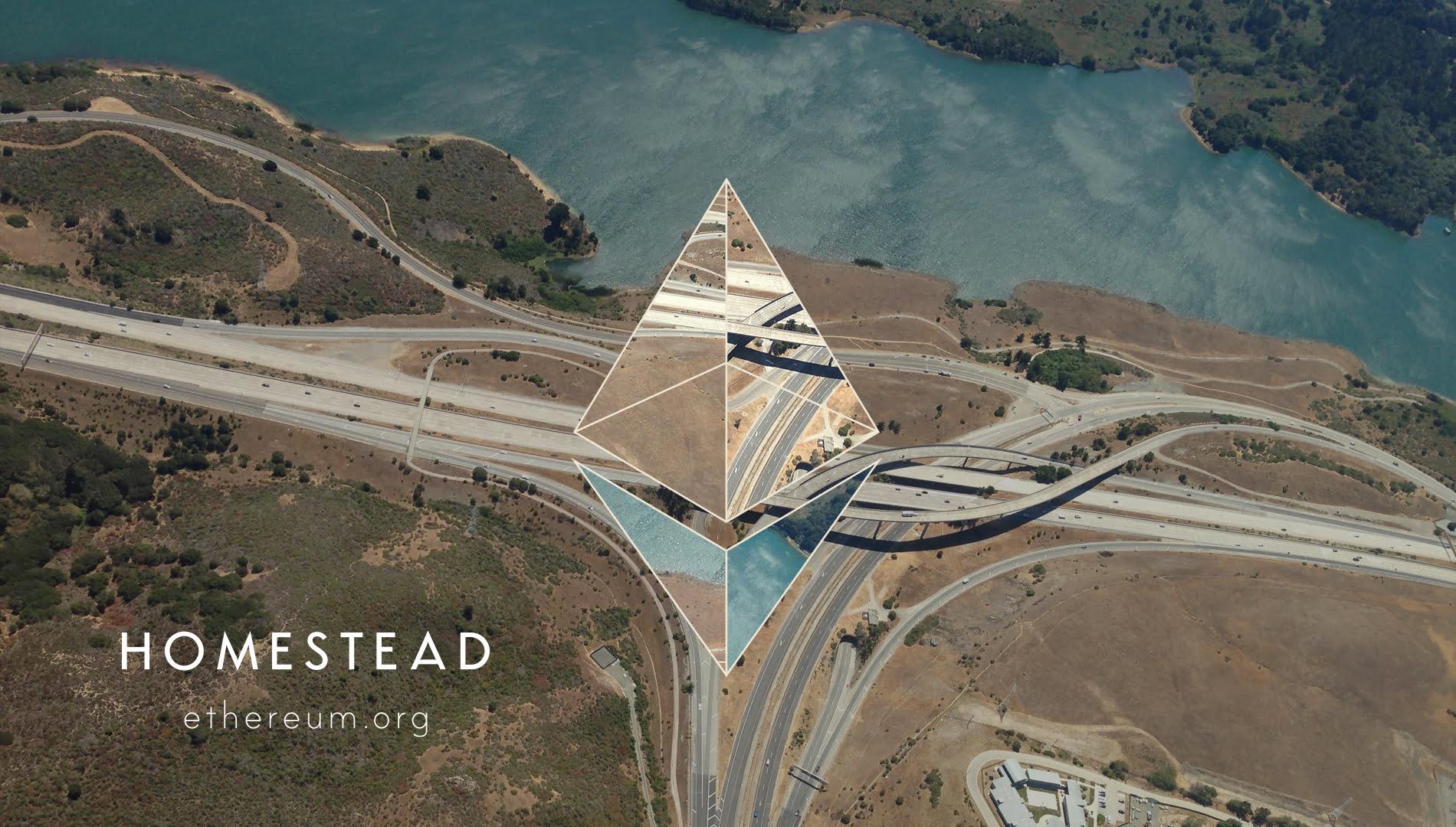 Ethereum homestead background