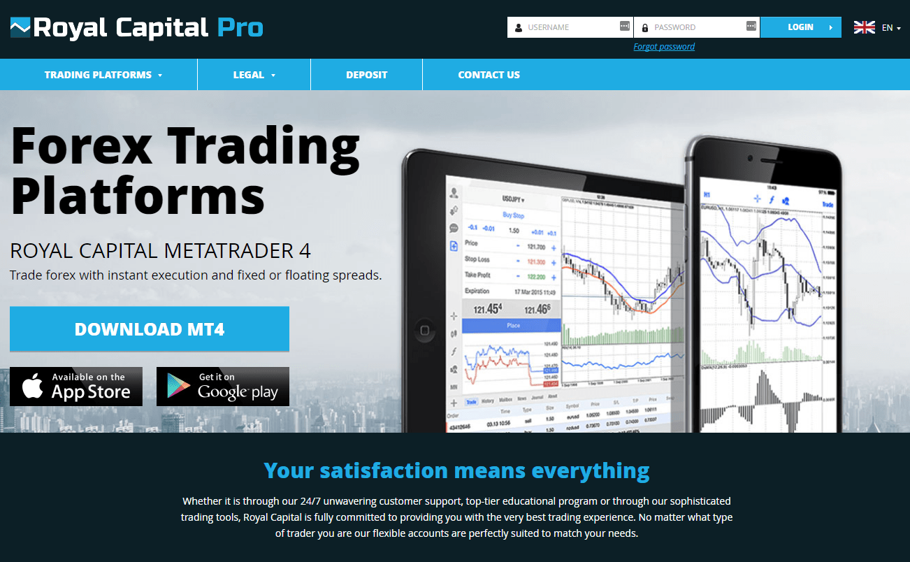 Royal Capital Pro: The Brand New Forex Broker