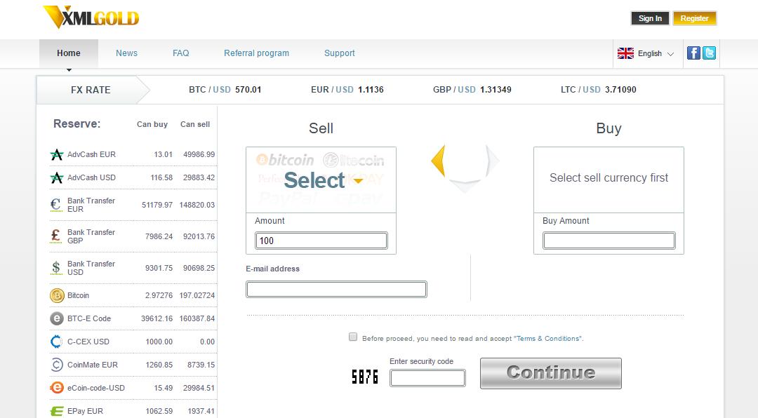 XMLGold Screenshot