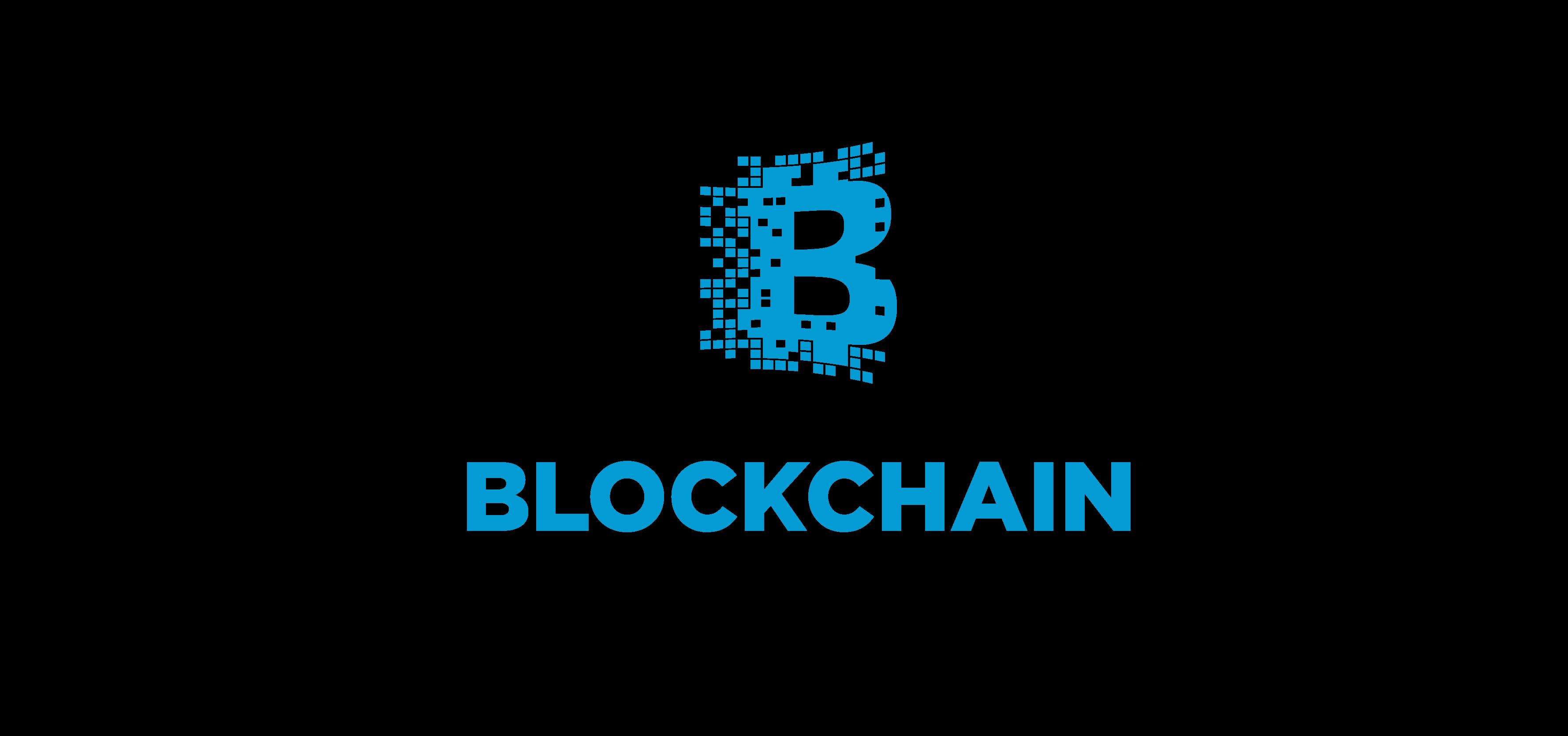 Blockchain Logo White