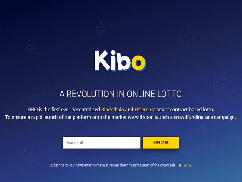 Kibo website