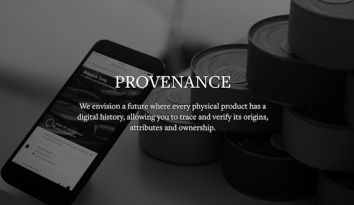 provenance, blockchain technology, supply chain,