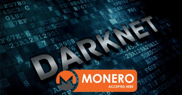 monero darknet