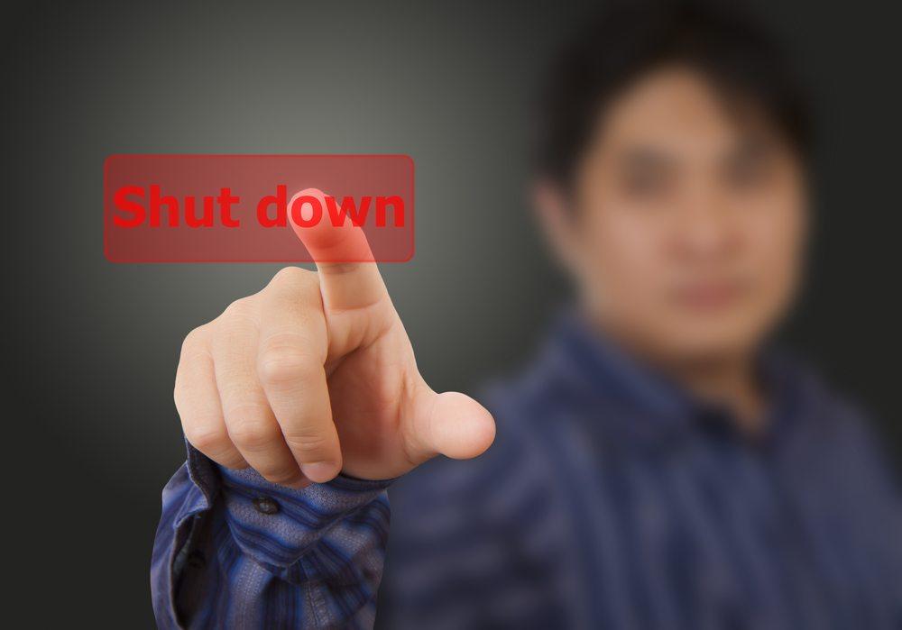 Velocity Ethereum Shut Down