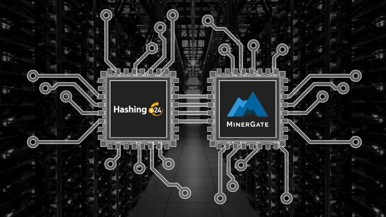 MinerGate adds cloud mining in partnership with Hashing24