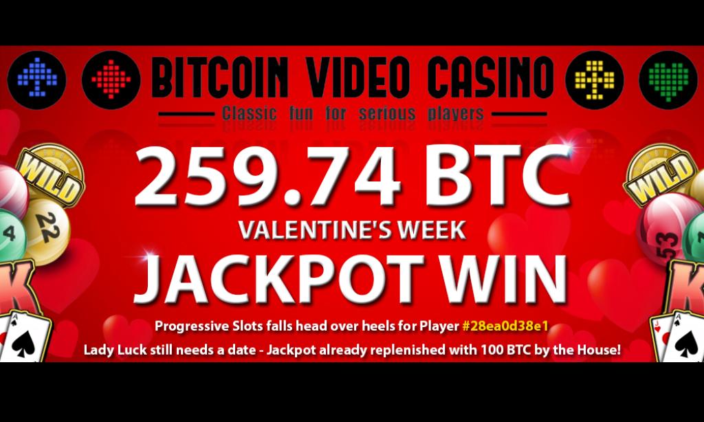Bitcoin PR Buzz Bitcoin Video Casino Jackpot