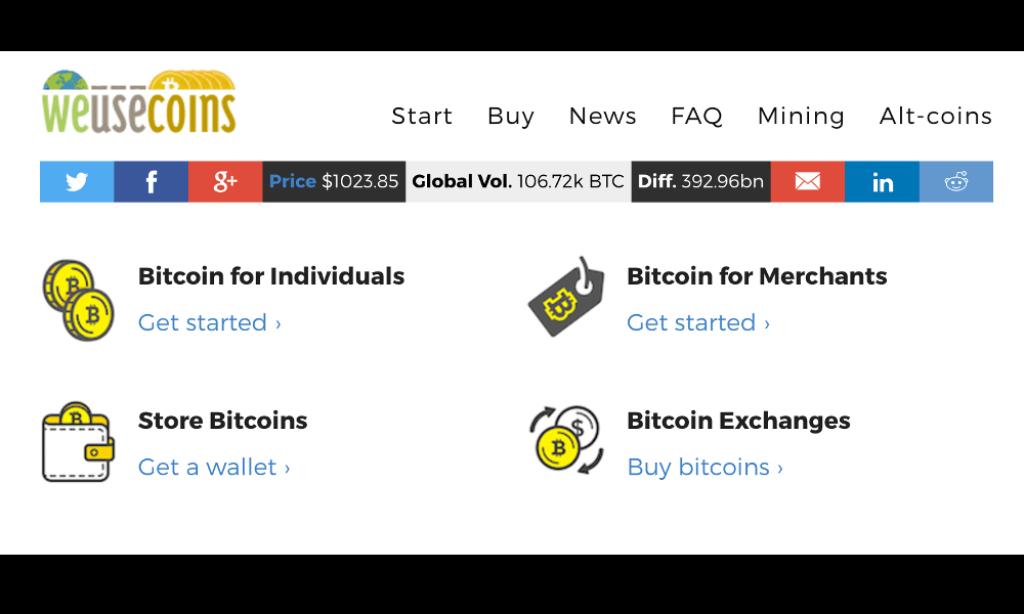 Bitcoin PR Buzz WeUseCoins Guide
