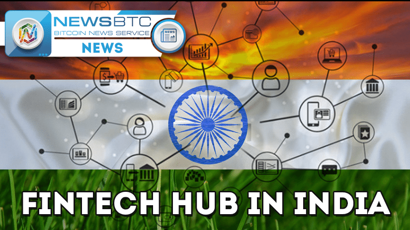 fintech, india, fintech hub, visa, thomson reuters