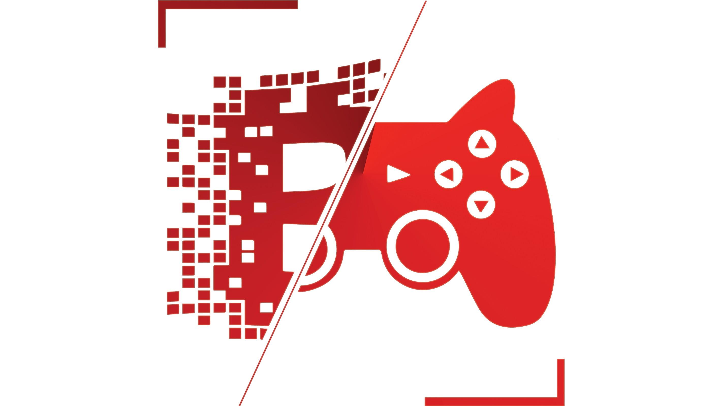 Blockchain Gaming Logo Wide