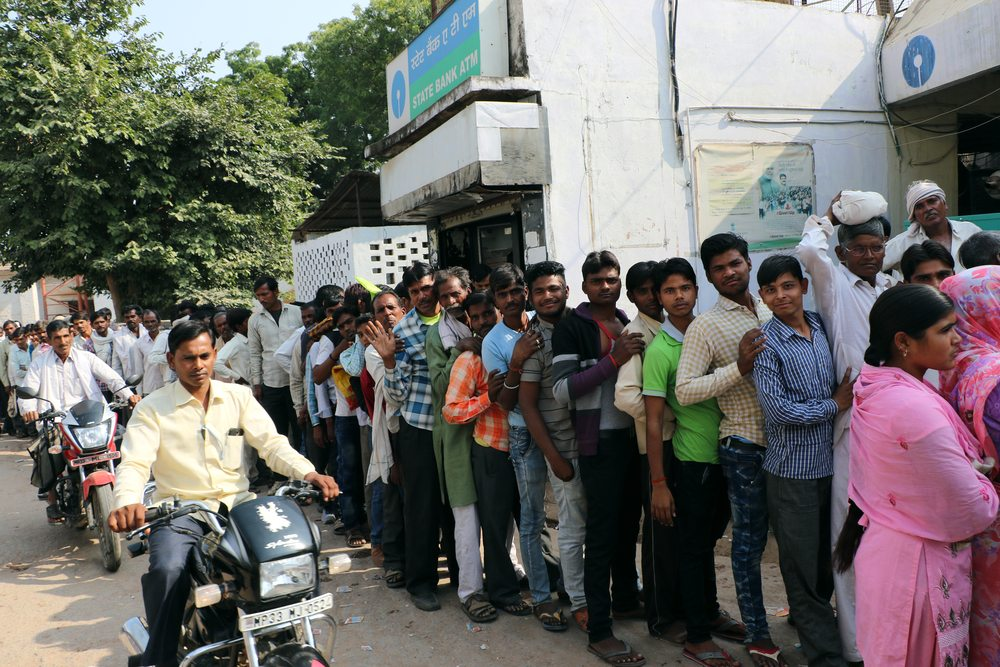 NewsBTC India Bank ATMs No Cash