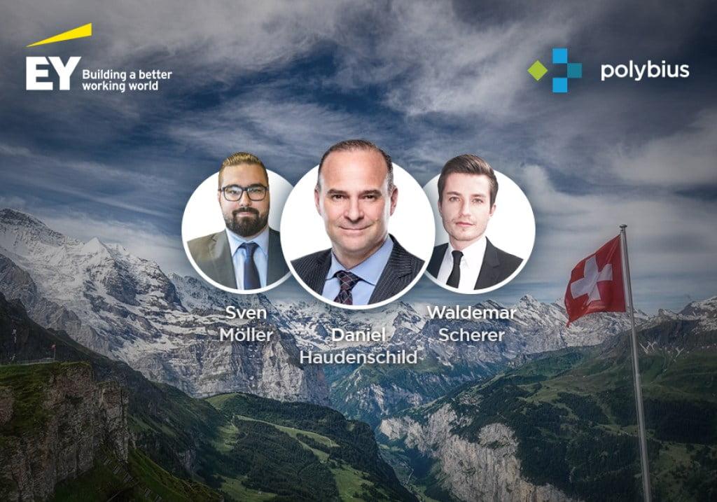 Bitcoin PR Buzz Swiss EY Polybius Bank
