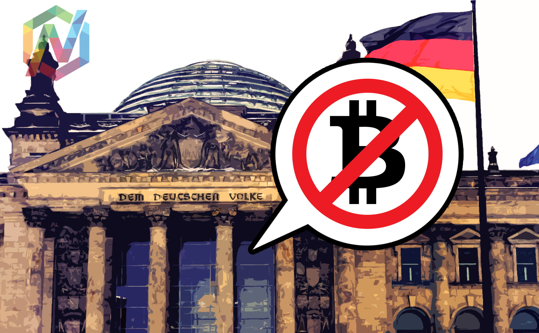 central bank, germany, bitcoin, warning