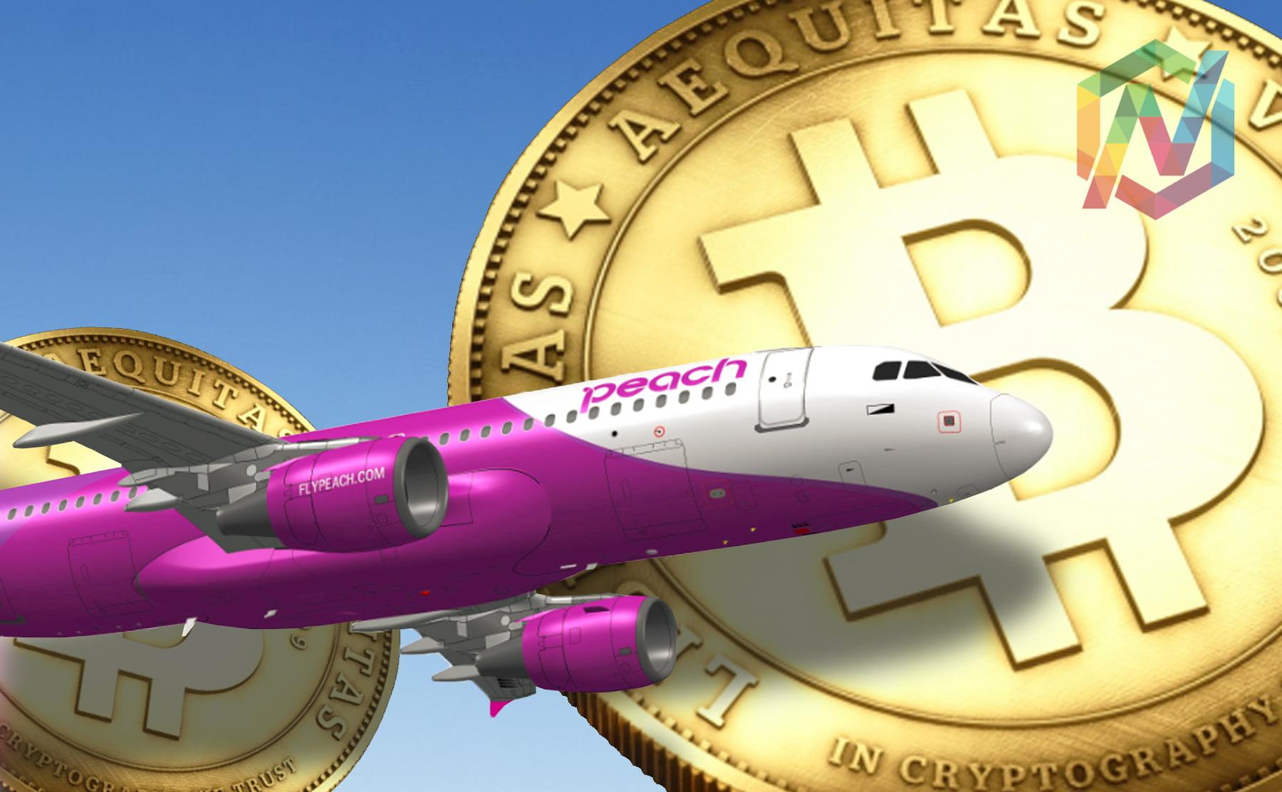 peach aviation, bitcoin, japan