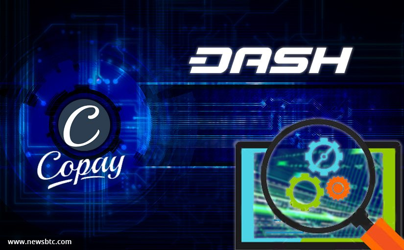 Copay Wallet for Dash Enters