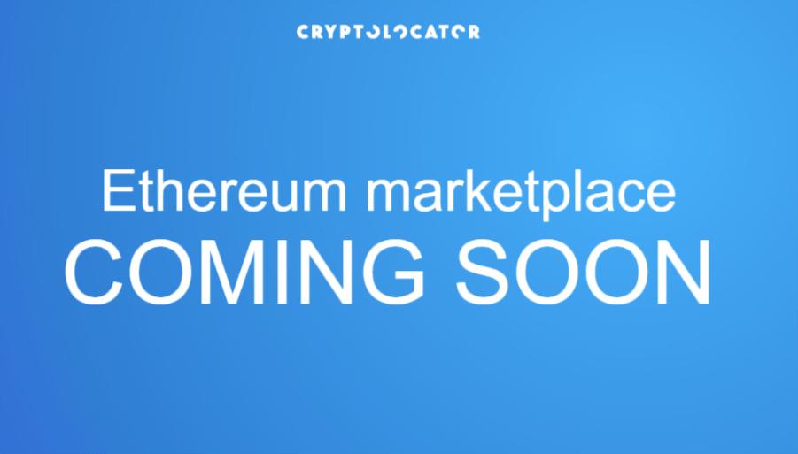 cryptolocator, marketplace, ethereum