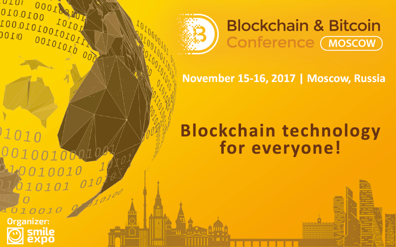 Smile Expo, Blockchain and Bitcoin Conference, Moscow, Russia, conference, bitcoin