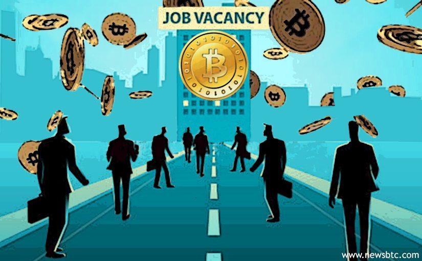 Bitcoin related Job Availability has Increased