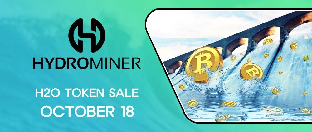 Hydrominer, tokensale