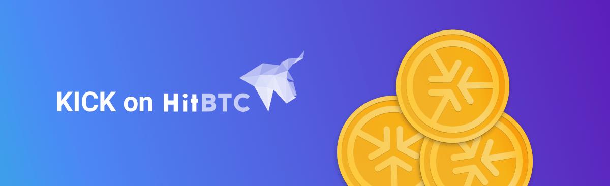 Kickico Tokens Listed On Hitbtc Exchange Platform
