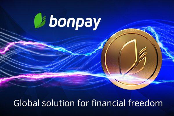 Bonpay, fintech, ico, crowdsale, cards, cryptocurrency